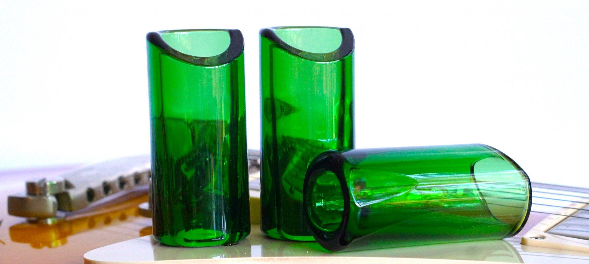 Rock Slide GRS-MG Medium Green Glass Slide