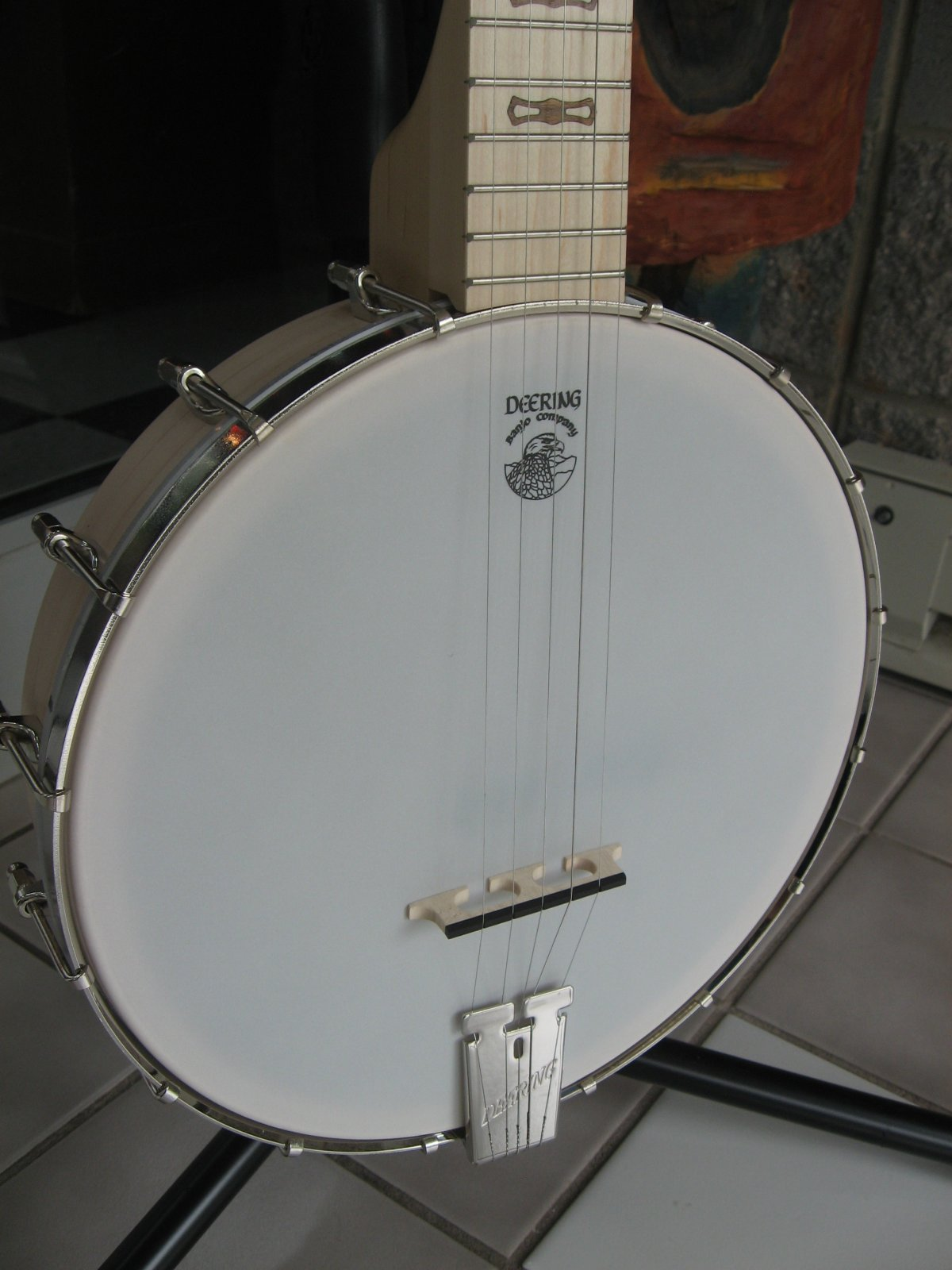 Deering Goodtime 5-String Openback Lefty