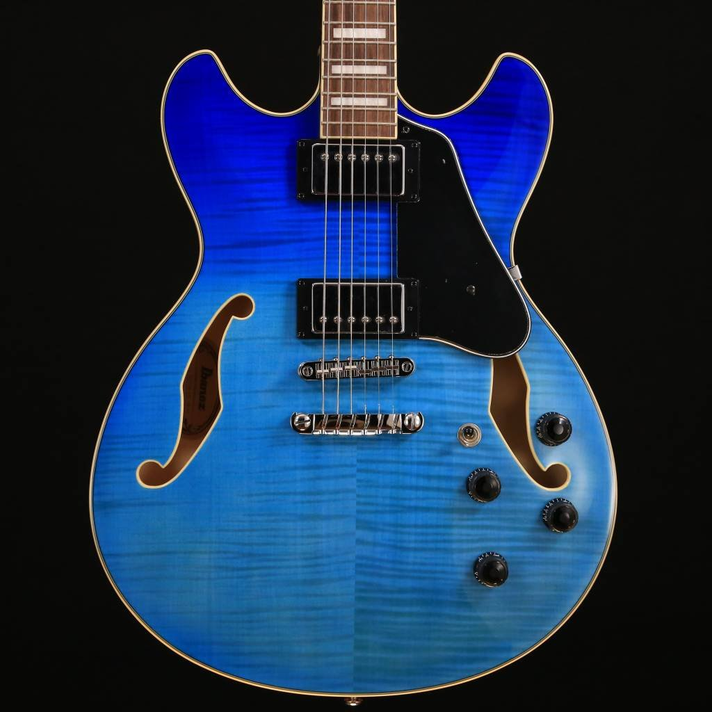 Ibanez AS73FMAZG    Azure Blue Gradation