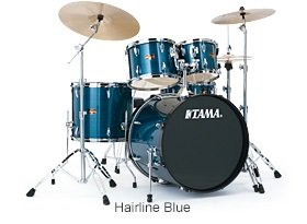Tama IP52NC Imperialstar Ready to Rock 5 Piece Kit Hairline Blue