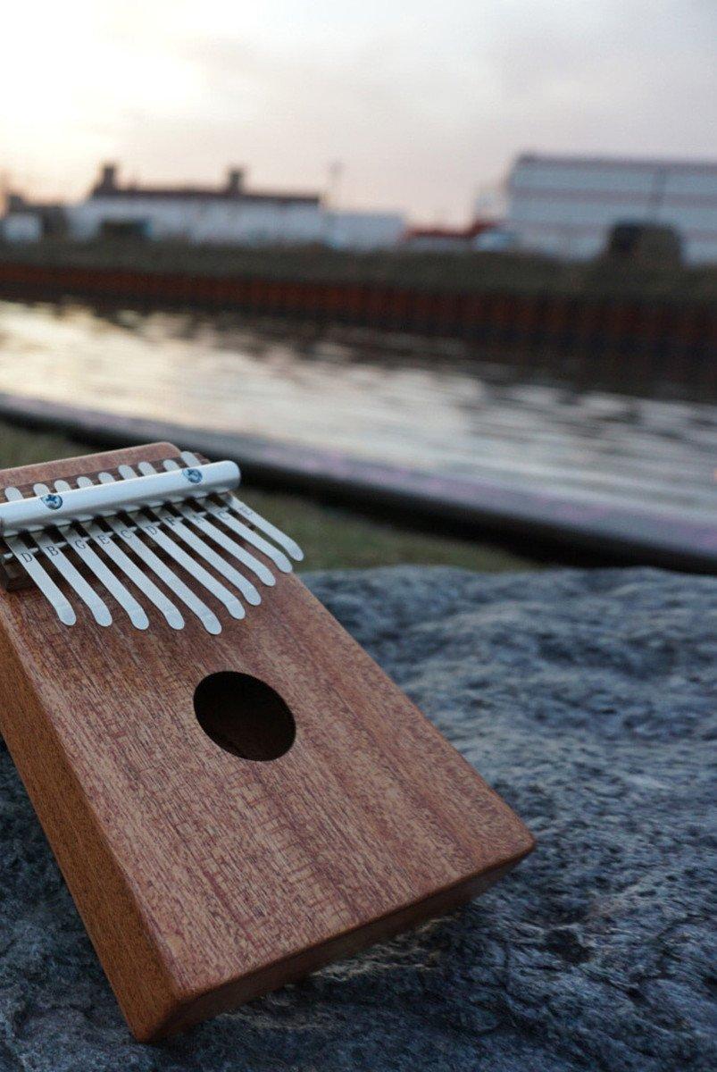 Dobani KL10MH 10-KEY Thumb Piano  Mahogany