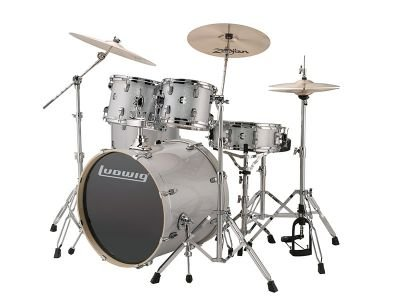 Ludwig Element Evolution Drum Kit - White Sparkle