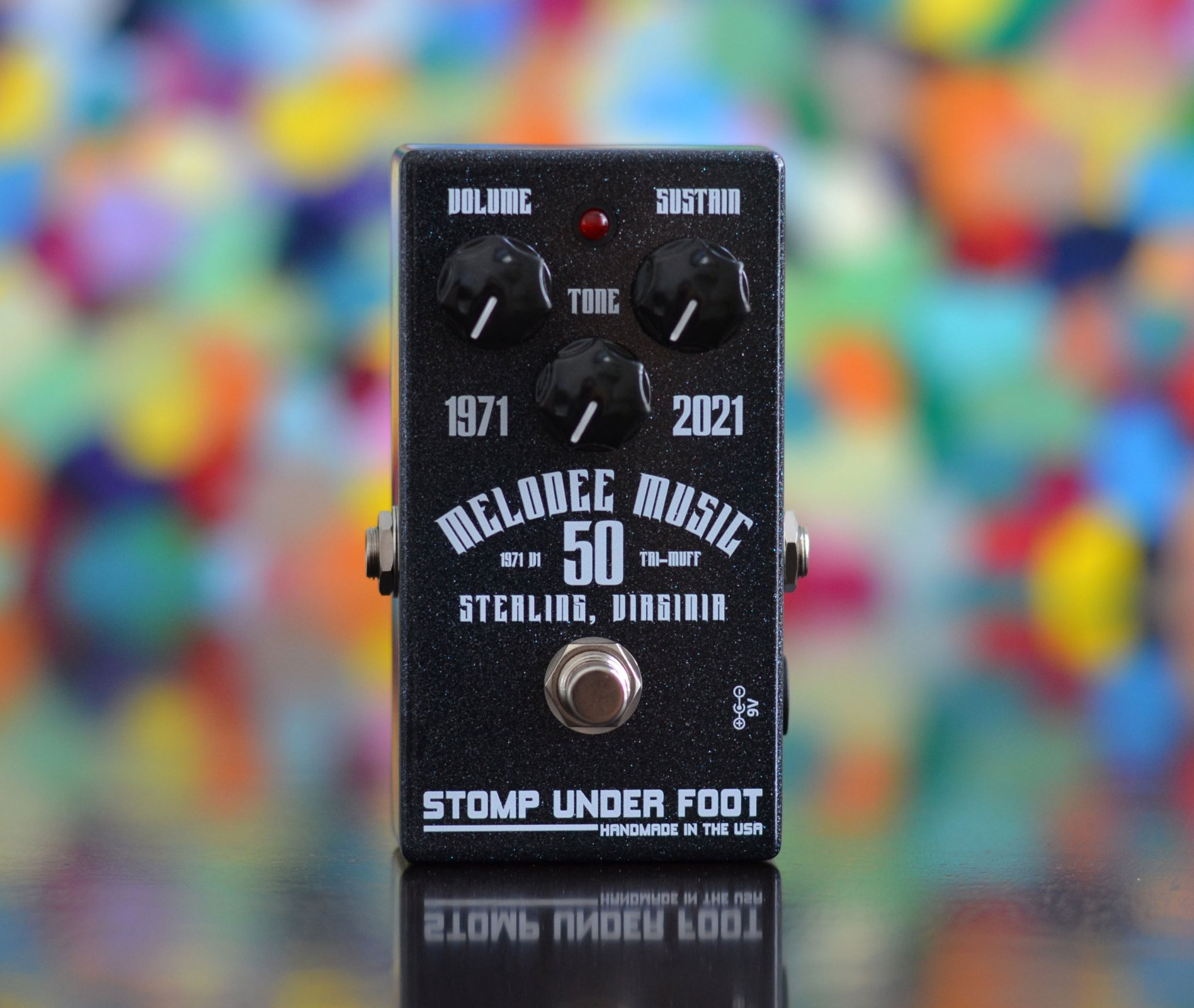 Pre-Order Melodee Music 50th Anniversary 1971 Fuzz from Stomp Under Foot