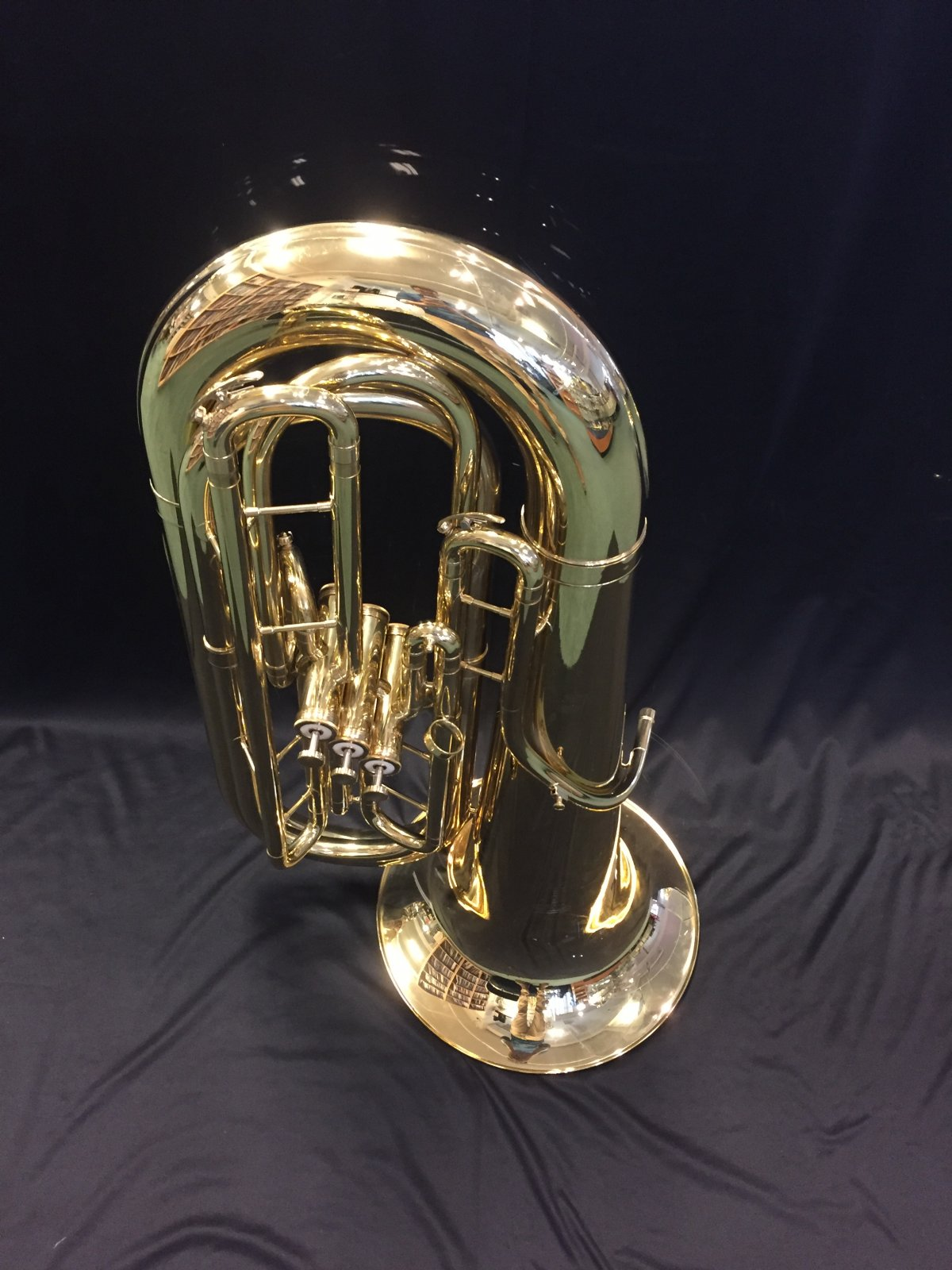 USED King 1135W 3/4 3 Vlave Tuba