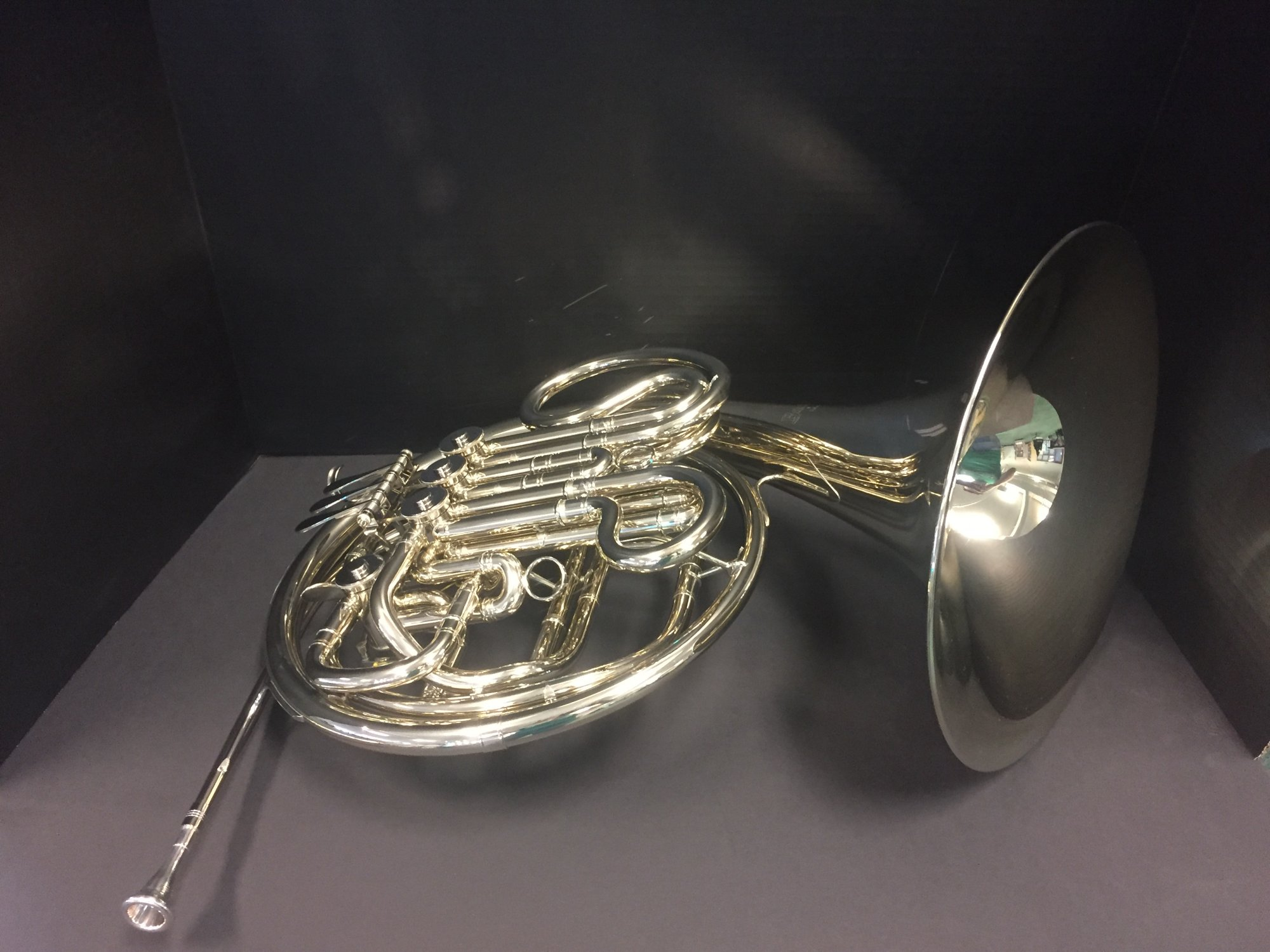 Bach B 1112 Double French horn