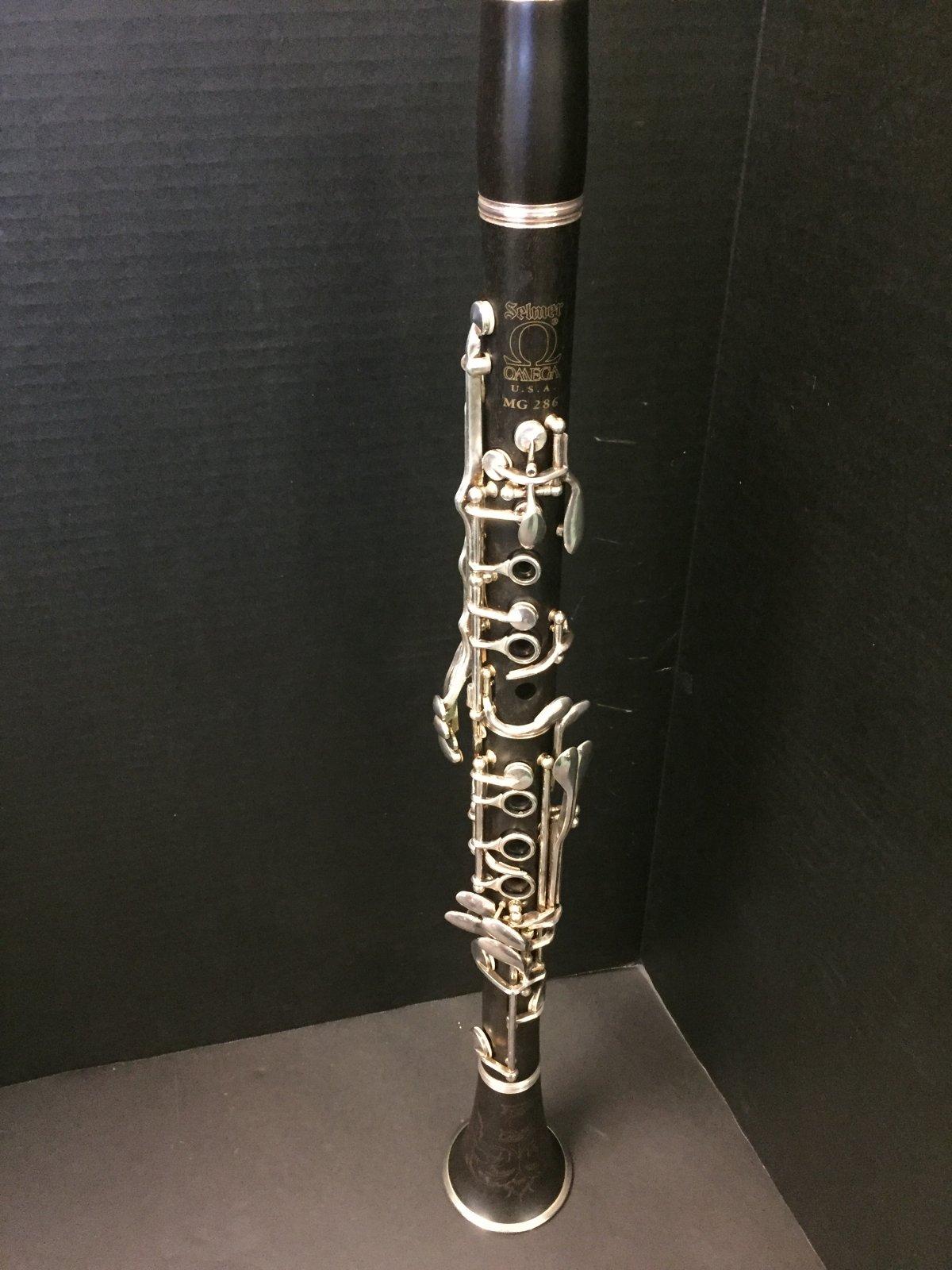 Selmer Omega MG 286 Clarinet Demo
