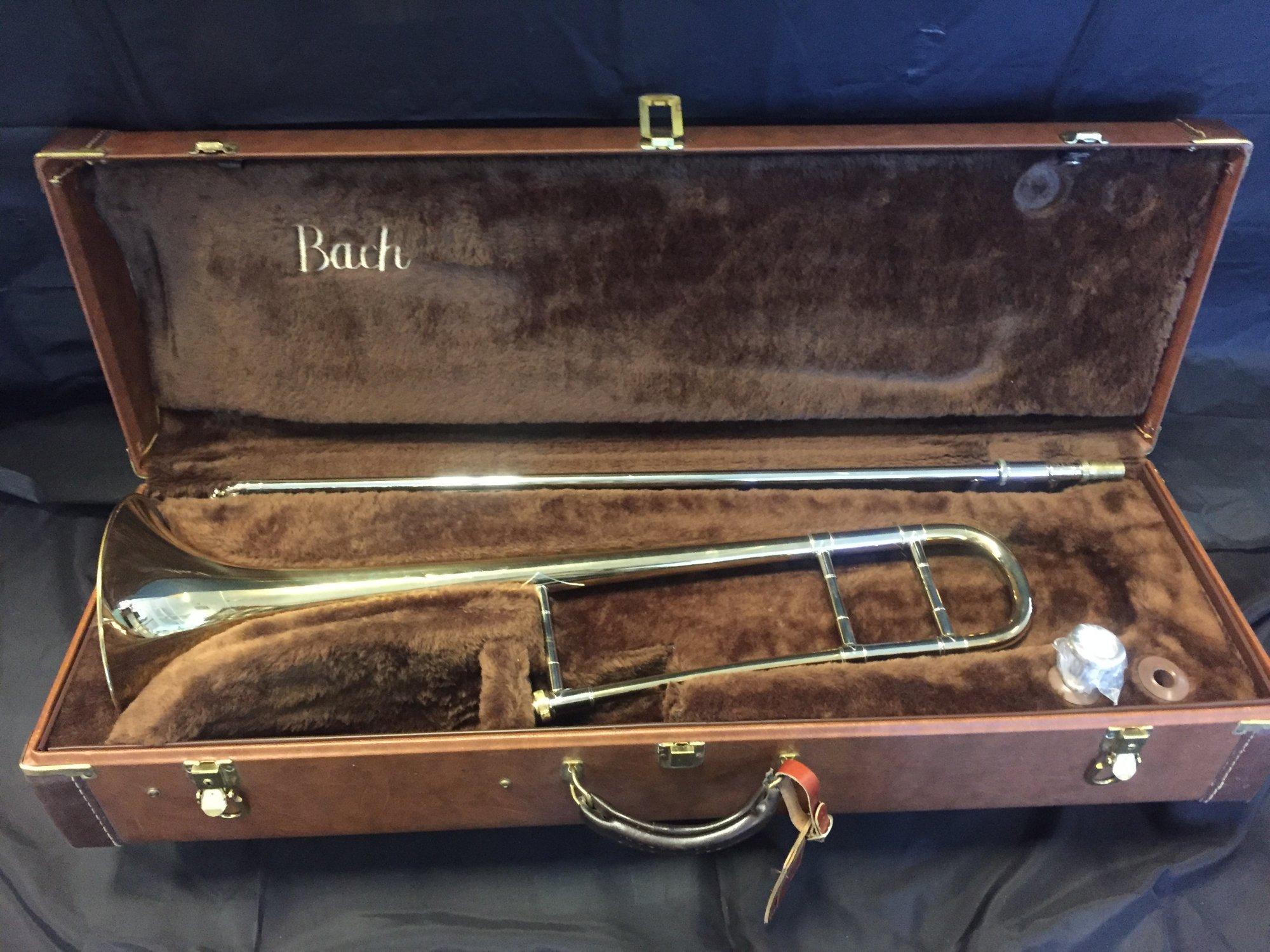 Bach Stradivarius Model 16 Trombone