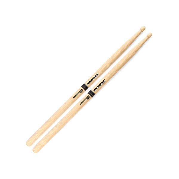 Promark TX2BW     Classic 2B Hickory Wood Tip