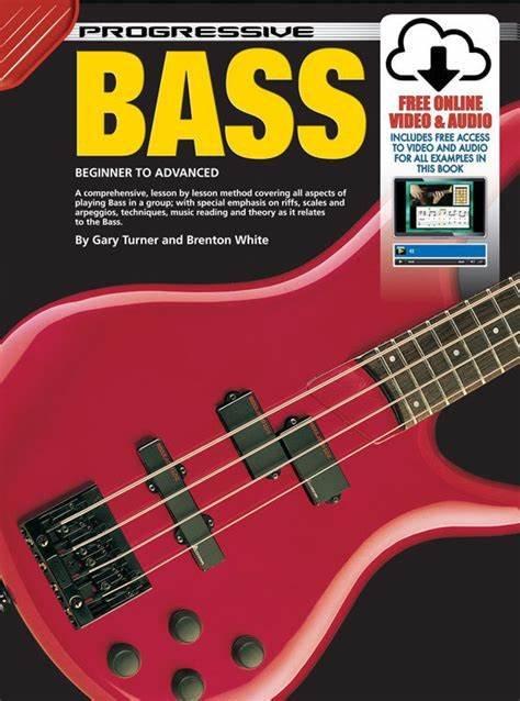 Progressive Bass Beginner To Advanced (online video and audio)