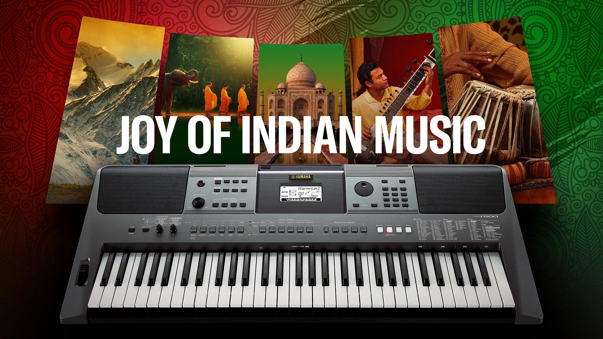 Yamaha PSR-I500 61 Key Portable Keyboard (Indian)