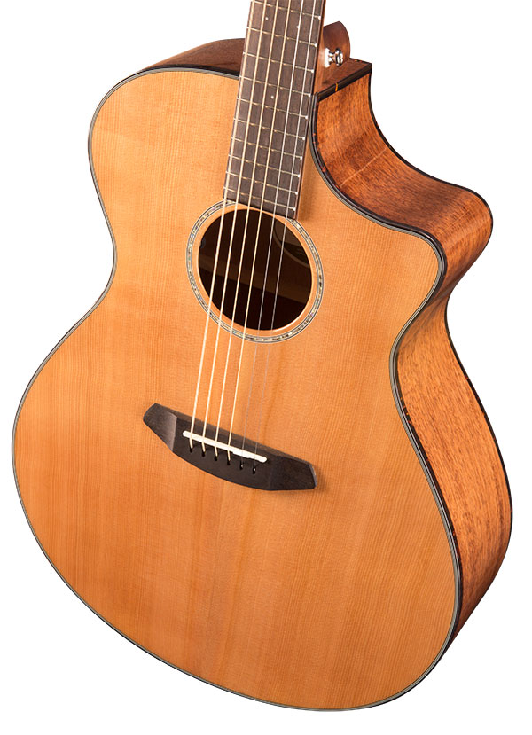 Breedlove Pursuit Exotic Concert CE Sitka/Myrtlewood