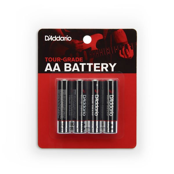 D'addario PW-AA-04     AA Battery 4-pack