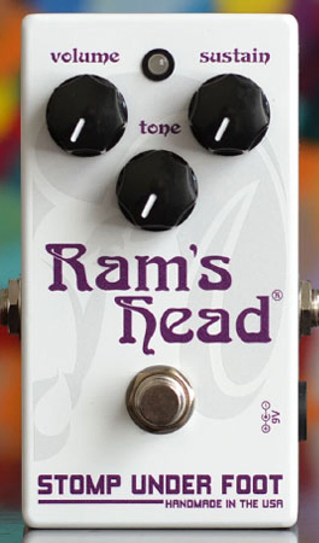 Stomp Under Foot Violet Ram's Head