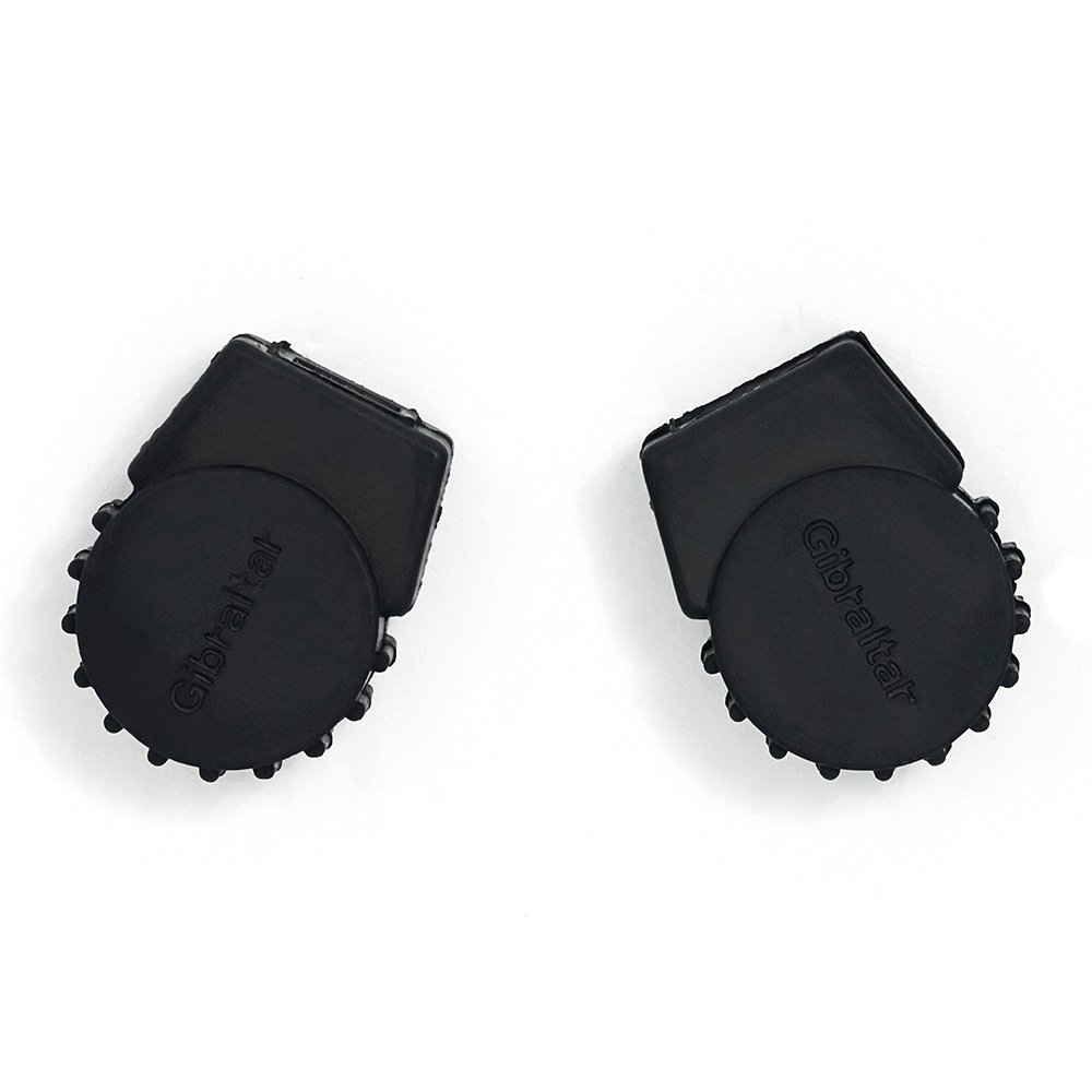 Gibraltar SC-PC10 Small Round Rubber Feet, 3-Pack