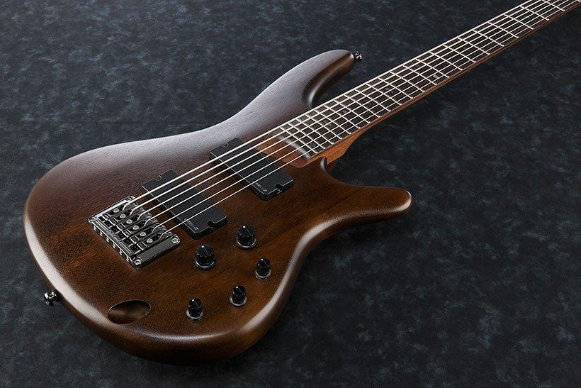 Ibanez SRC6 - Walnut Flat (Bass 6)