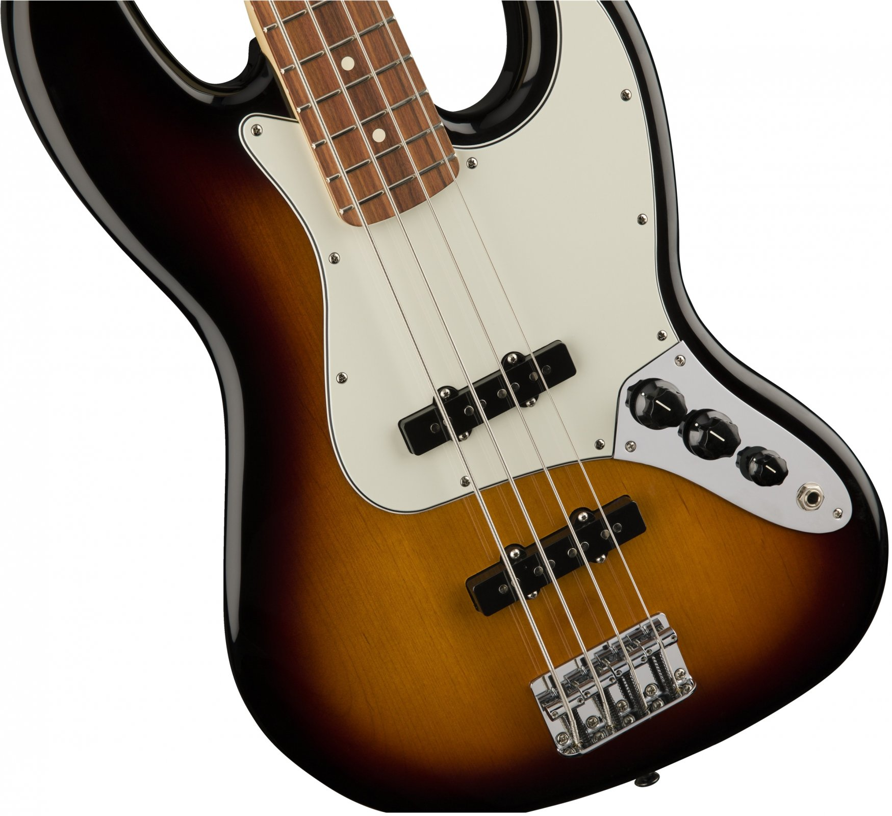 Fender Standard Jazz Bass - Brown Sunburst w/ Pau Ferro Fingerboard