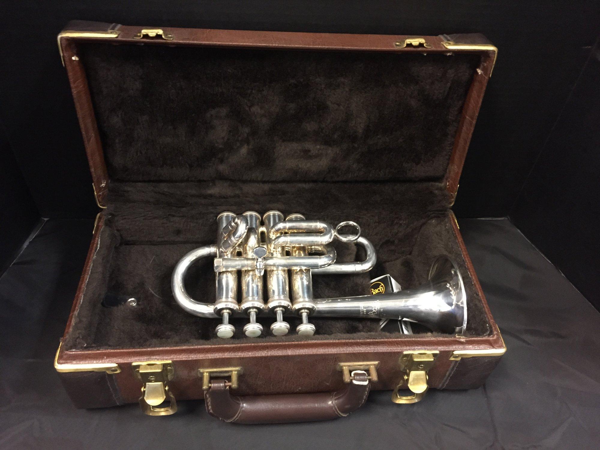 Bach Stradivarius 196S Piccolo Trumpet