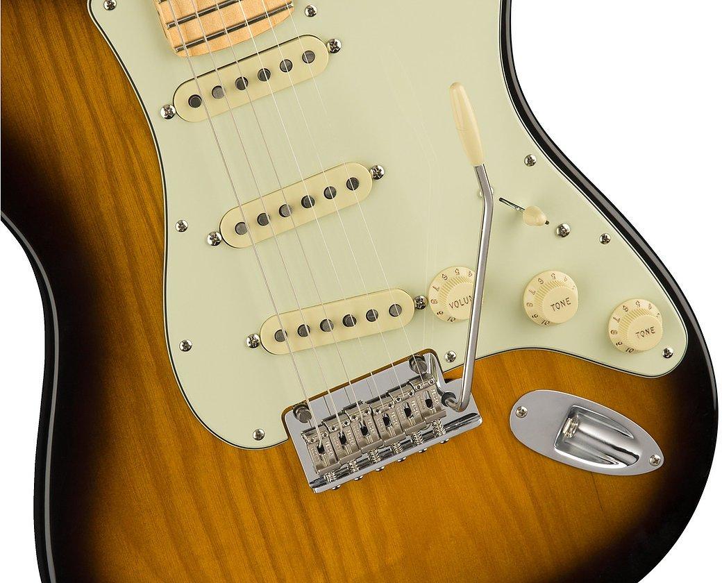 Fender 2018 Limited Edition Parallel Universe Strat Tele Hybrid - 2 Color Sunburst w/ Maple Fingerboard