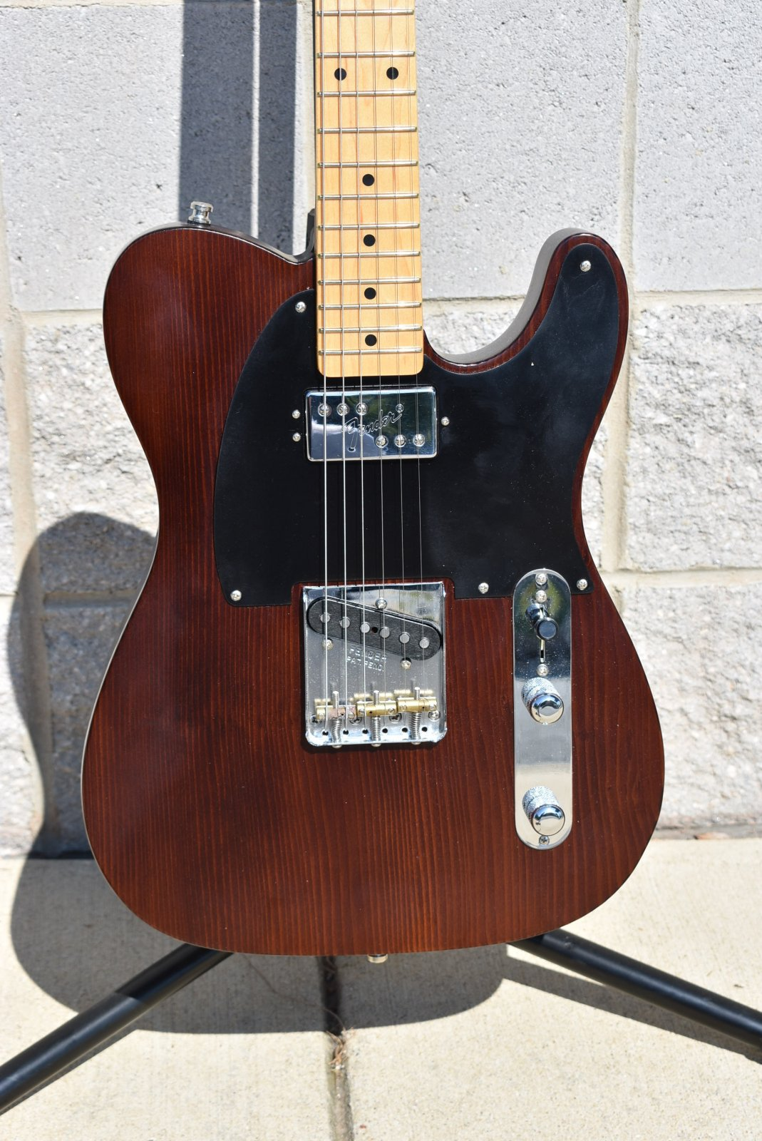 Used Fender Limited Edition Vintage Hot Rod '50s Tele Redwood