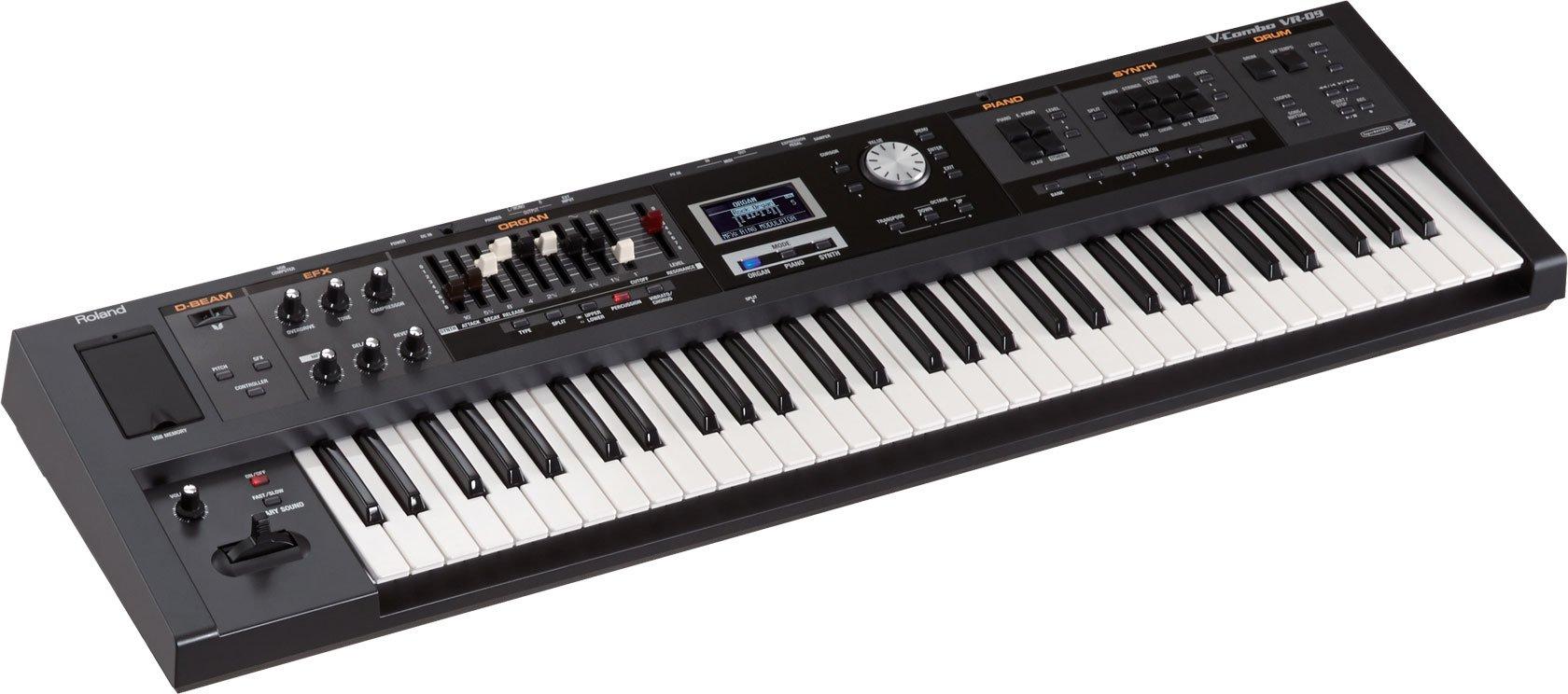 Roland V-Combo VR-09B 61-Key Live Performance Keyboard