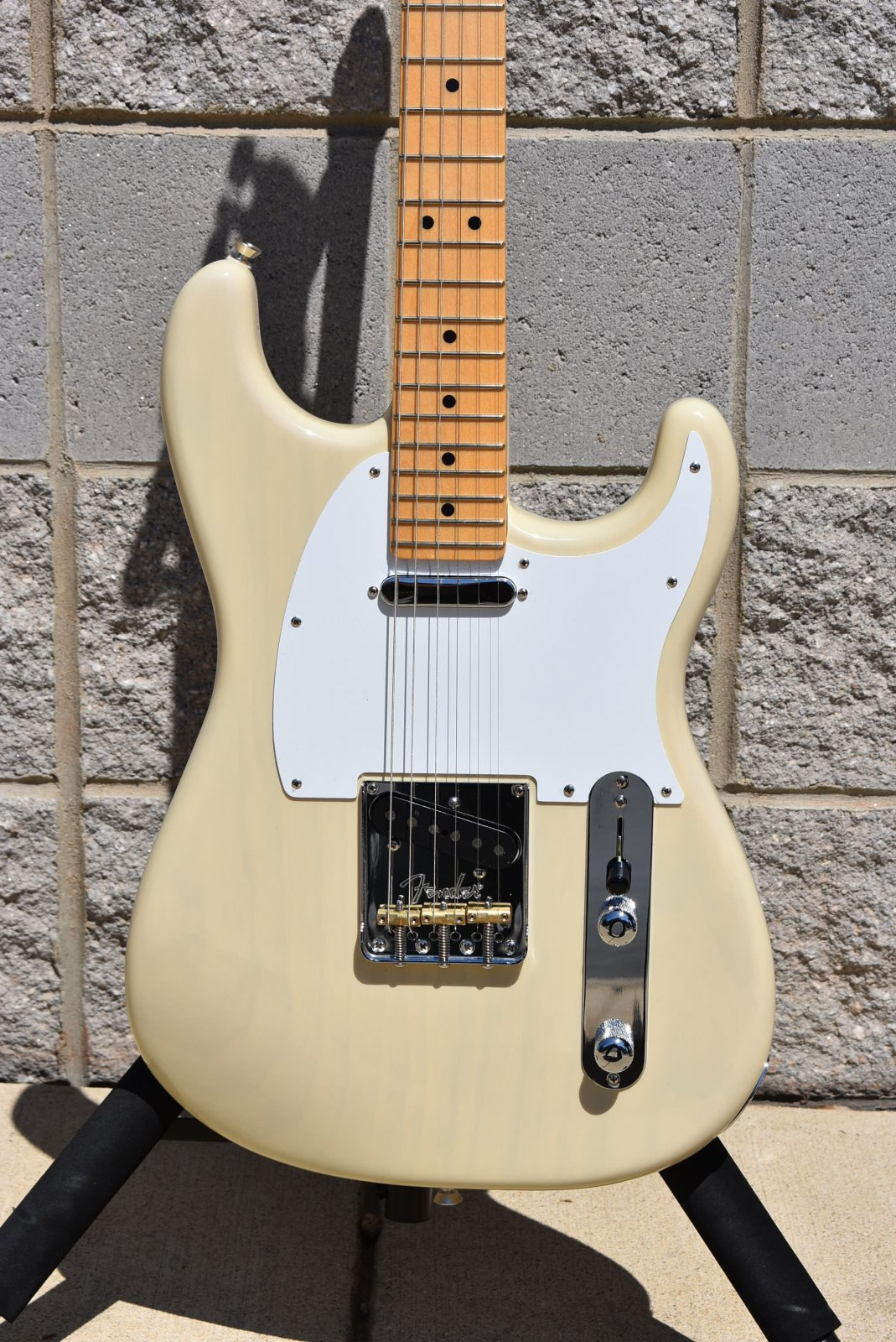 2018 Fender Limited Edition Parallel Universe Whiteguard Stratocaster