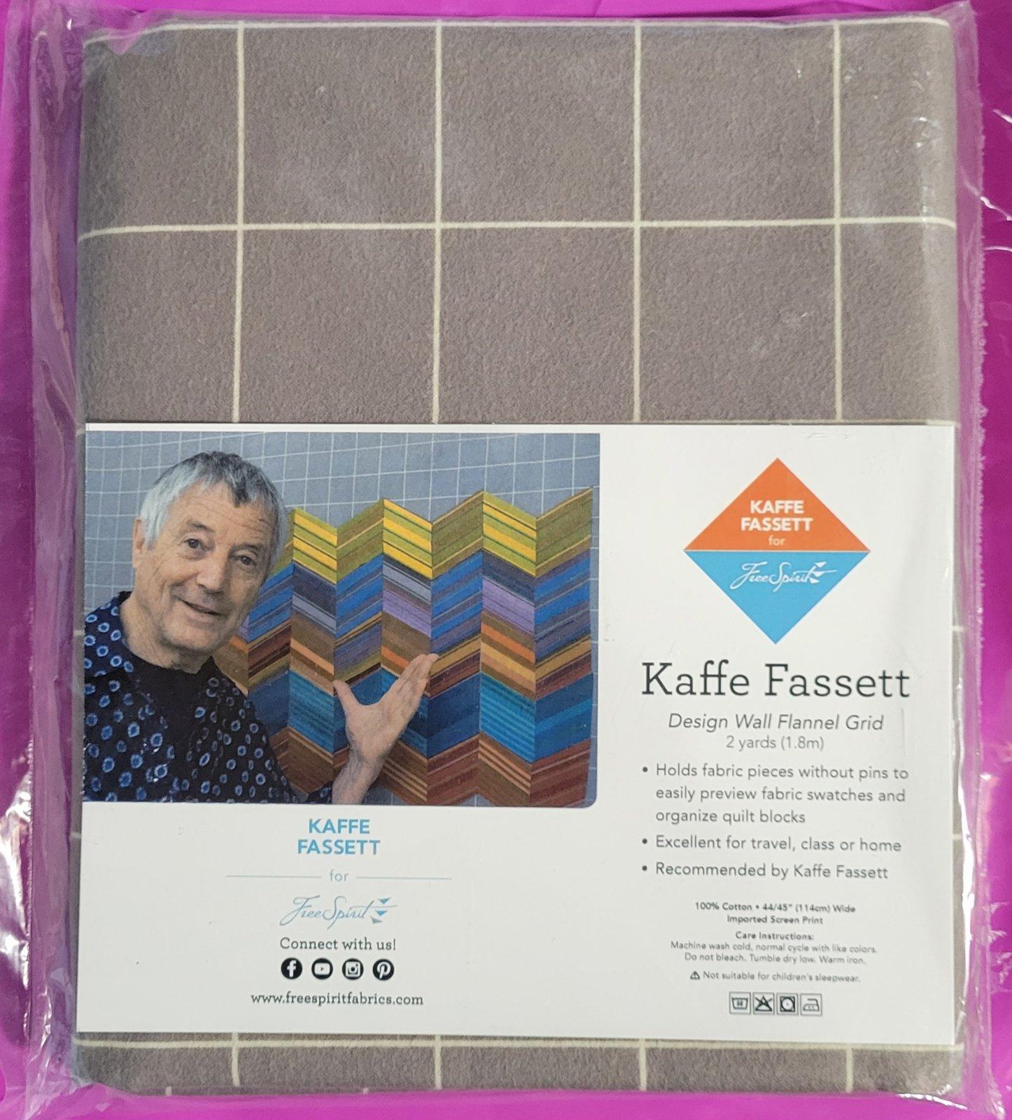 Kaffe Fassett Flannel Wall Grid