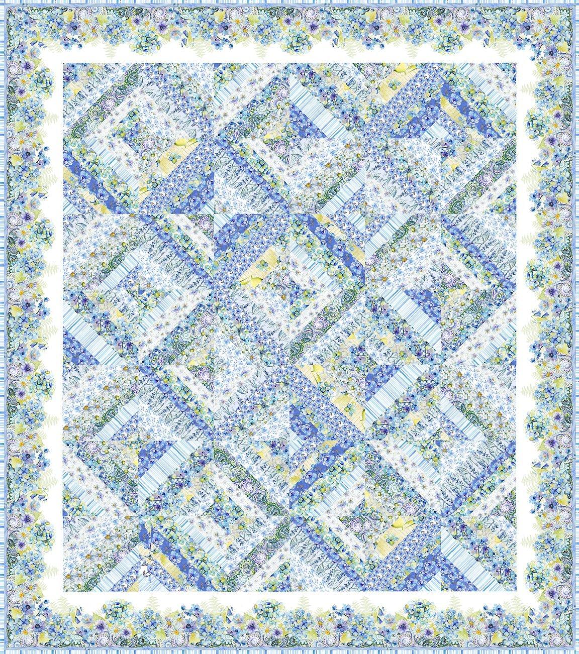 Leah Quilt Quilt Size 79 x 89