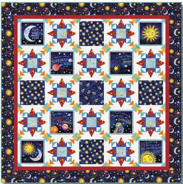 Stay Wild Moon Child Quilt Kit
