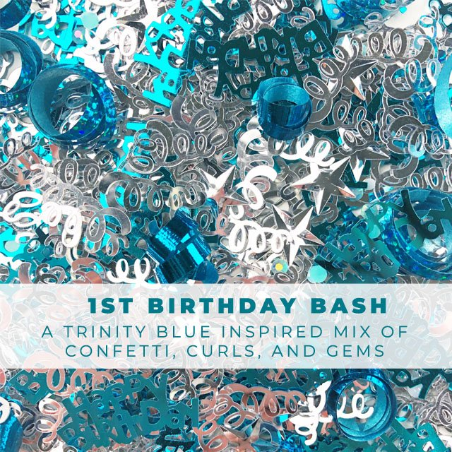 1st Birthday Bash Embellishment Mix *exclusive*