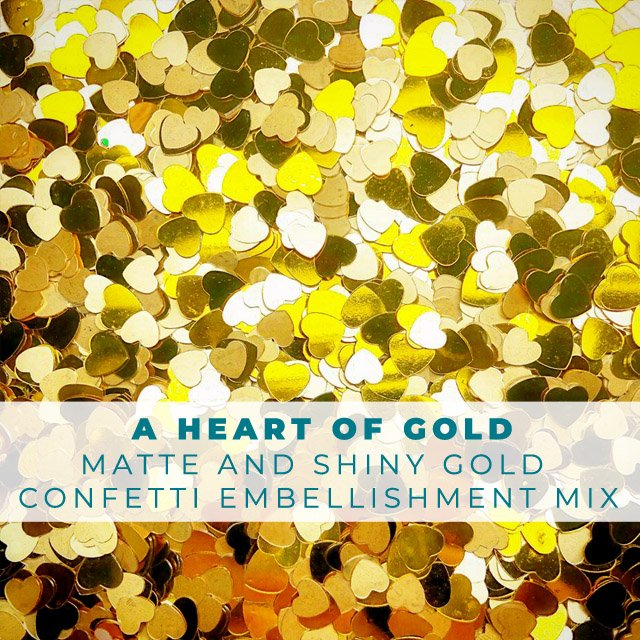 Heart of Gold - Embellishment Mix