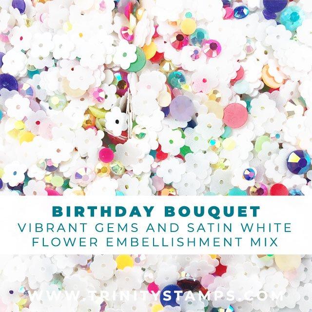 Birthday Bouquet Embellishment mix