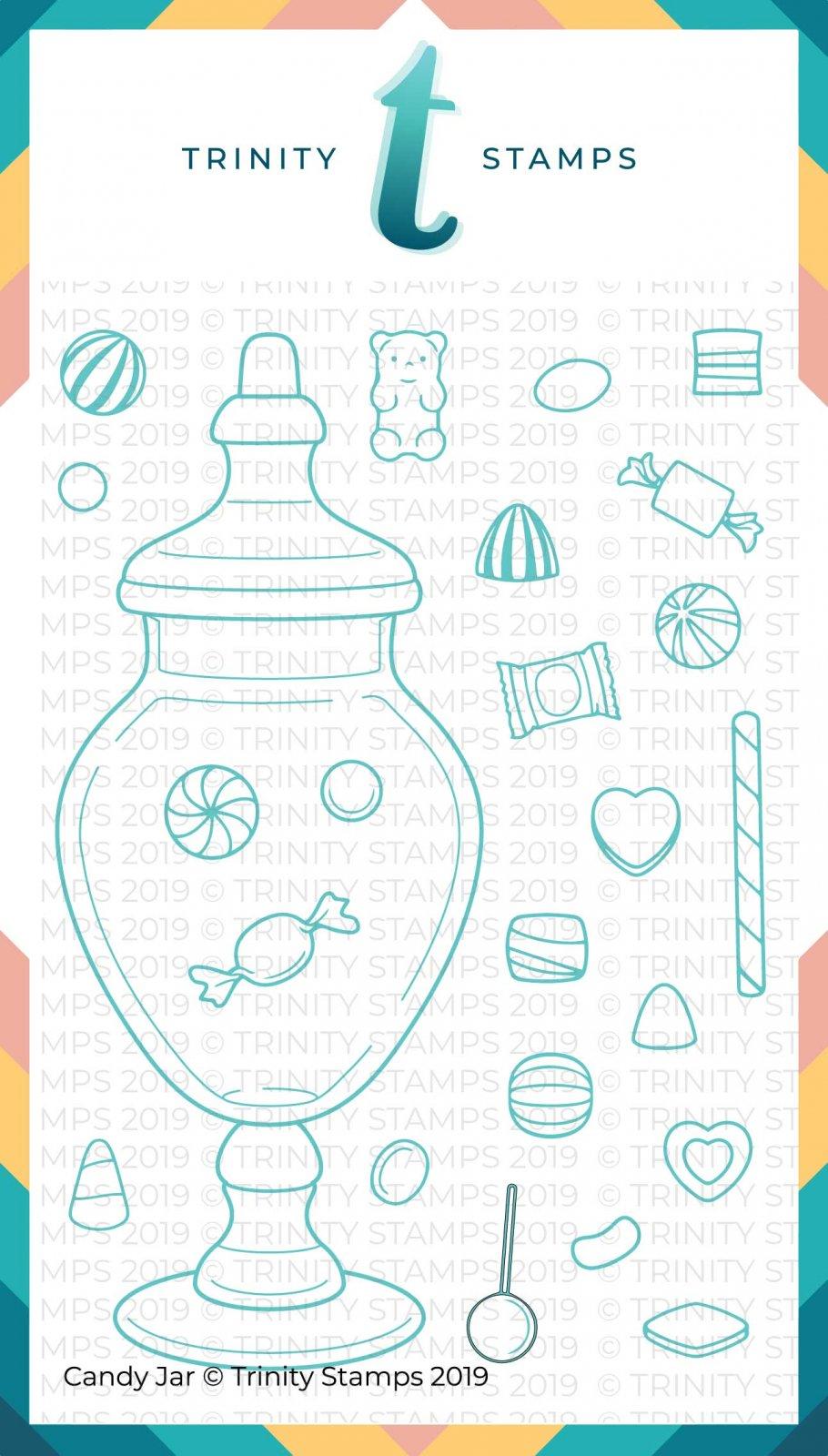 Trinity Stamps Candy Jar