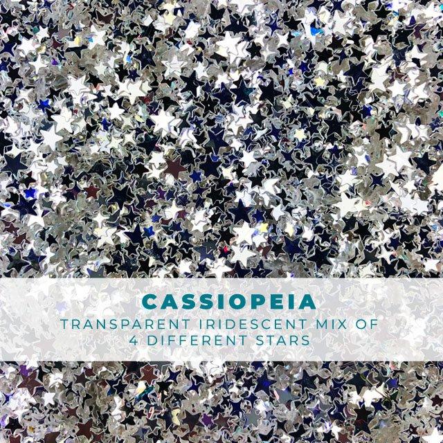 Cassiopeia shimmer star confetti mix
