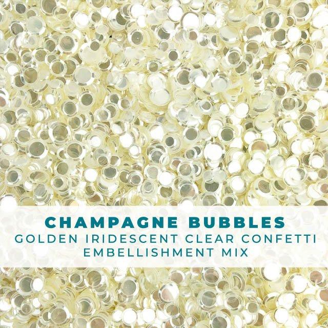 Champagne Bubbles Confetti Mix