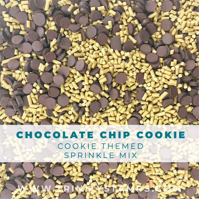 Chocolate Chip Cookie: Dessert inspired sprinkles Mix