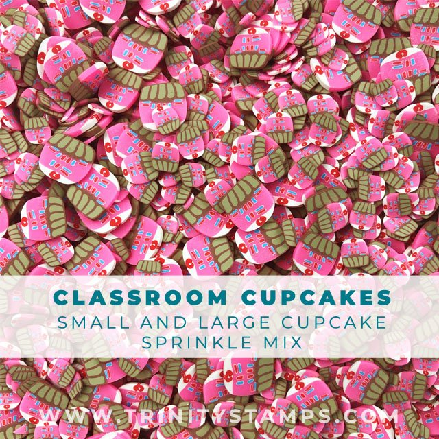 Classroom Cupcakes Sprinkles Mix