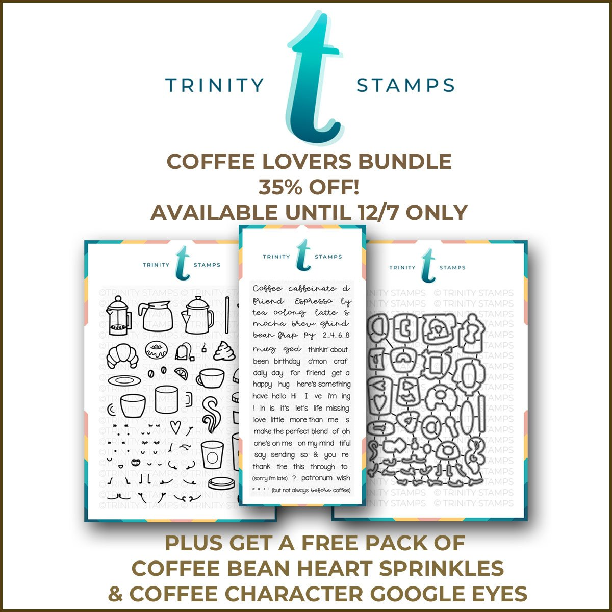 Coffee Lovers Blog Hop Bundle! 35% off until *extended to* 12/12/18