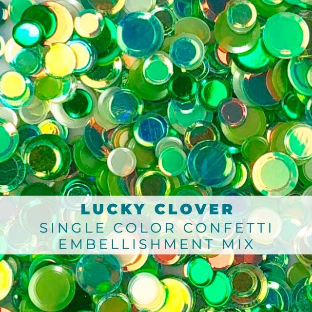 Lucky Clover Confetti Mix