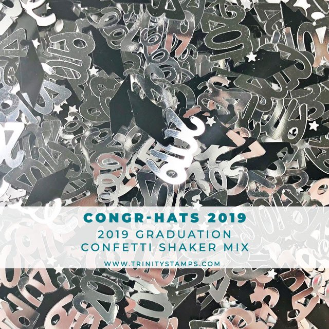 CongrHATS 2019 Confetti Mix
