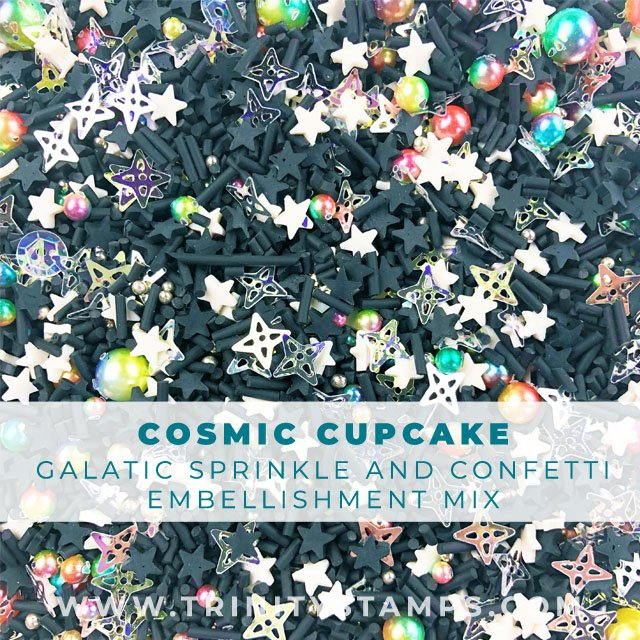 Cosmic Cupcake: An out of this world sprinkle shaker mix