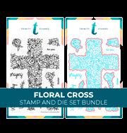 Floral Cross Bundle