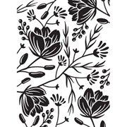 Flower Pod Background Embossing Folder