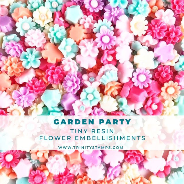 Garden Party: Resin Flower Embellishments