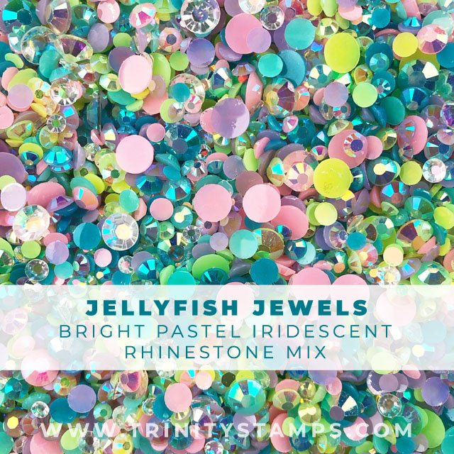 Jellyfish Jewels Rhinestone Mix