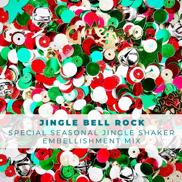 Jingle Bell Rock - Holiday Confetti Embellishment Mix