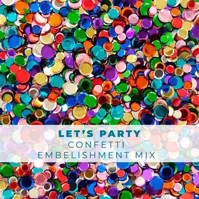 Let's Party Confetti Mix