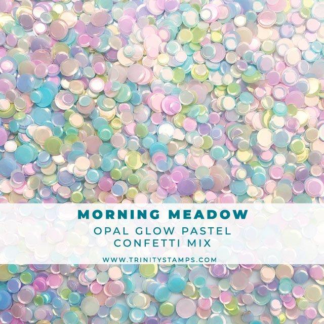Morning Meadow opal sheen confetti mix