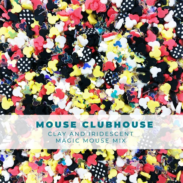 Mouse Clubhouse: Red Yellow & Black sprinkle assortment