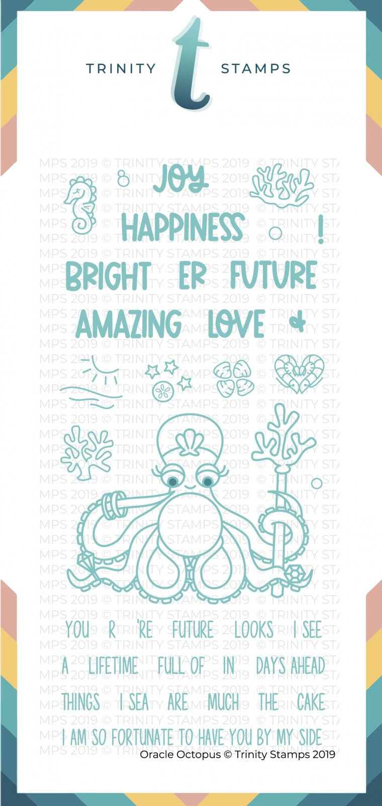 Oracle Octopus 4x8 Stamp Set
