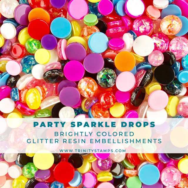 Party Sparkle Drop Embellishment Mix